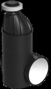 тангециальный пластиковый колодец